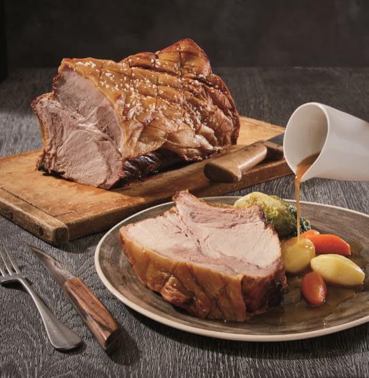 Carre de porc du pays basque